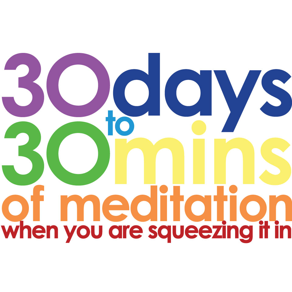 Thirty Days to 30 Minutes of Meditation